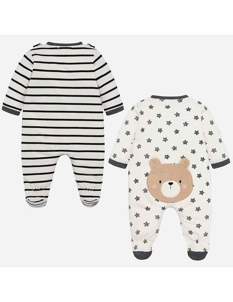 Mayoral Set Pijama y Babero reci/én Nacido Bebe