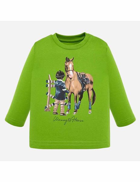 Mayoral 'winner Ml Bebe Camiseta Verde Para Niño H9IYWDE2