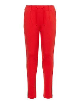 Pantalon Name it Sport Rojo Para Niña